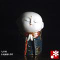 九谷焼 お地蔵様 青粒(高さ10cm)(WAZAHONPO-41831)