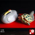 九谷焼 鶴亀 盛(WAZAHONPO-41844)