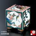 九谷焼 香炉 花鳥 加登明雄(WAZAHONPO-42035)