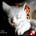眠り猫 白盛(WAZAHONPO-NEMURINEKO)