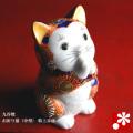 お祈り猫(中型) 特上赤盛(WAZAHONPO-oinori)