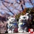 ちび招き猫ちゃんセット 桜吹雪(WAZAHONPO-SAKURA)