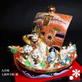 九谷焼 7号七福神宝船 盛(WAZAHONPO-41848)