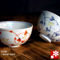夫婦茶碗 花唐草(WAZAHONPO-20528)