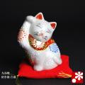 3号招き猫 白盛(WAZAHONPO-W31123)