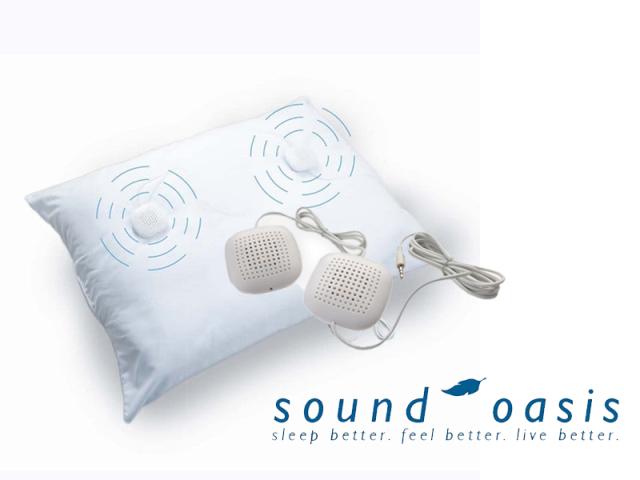 Sound Oasis SP-100 サウンドオアシス 枕用スピーカー Pillow Speaker/03-034