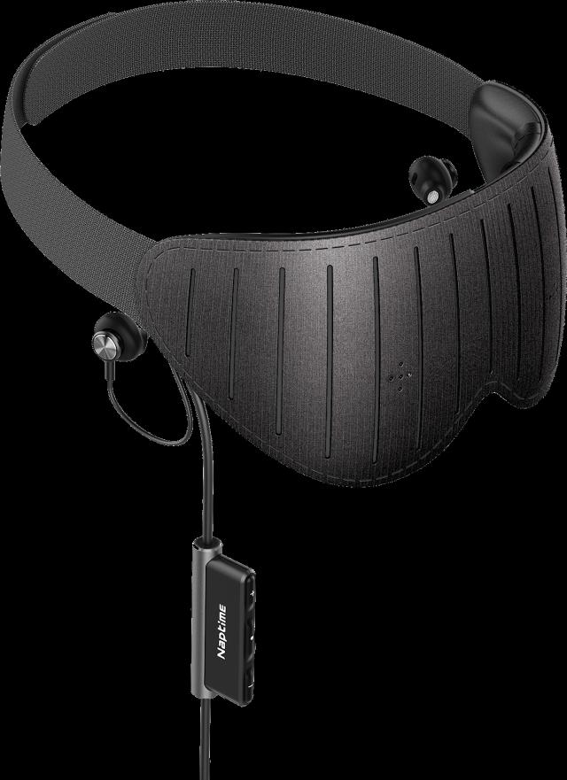 【ナップタイム】 脳波xAI 仮眠専用スマートアイマスク NAPTIME