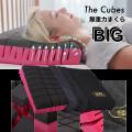 無重力枕 The Cubes Big ホテルサイズ枕 仰向け・横向き・あらゆる寝姿勢でも快適な眠りを。いびき防止にも/39-002
