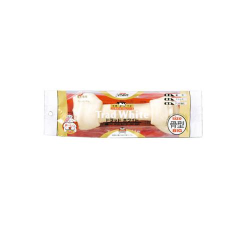 ペッツルート トラッドホワイトガム 骨型 BIG