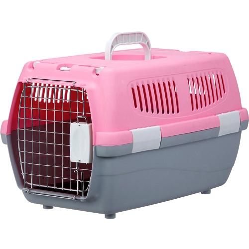マルカン 2ドアキャリー小型犬・猫用 ピンク DP-173