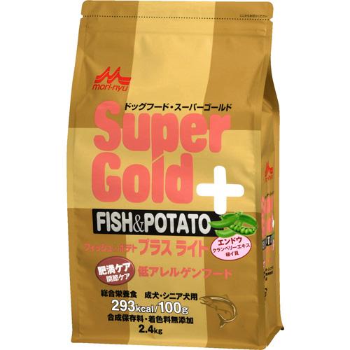 森乳 スーパーゴールド フィッシュ&ポテト プラス 肥満ケア用・関節ケア用 低アレルゲンフード 2.4kg