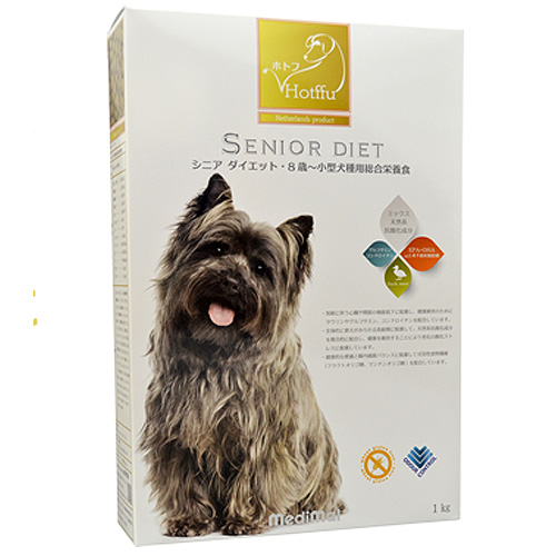 メディマル ホトフ シニア ダイエット・8歳~小型犬種用総合栄養食 1kg