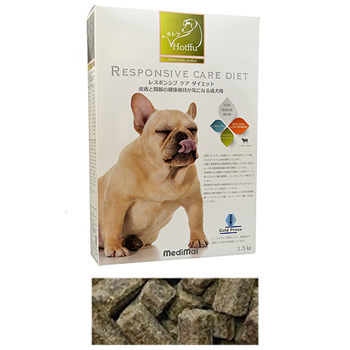 メディマル ホトフ レスポンシブ ケア ダイエット・皮膚と関節の健康維持が気になる成犬用 1.5kg 粒