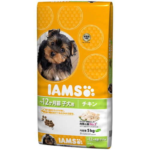 IAMS アイムス 子犬用【離乳期~12ヶ月齢】チキン 5kg