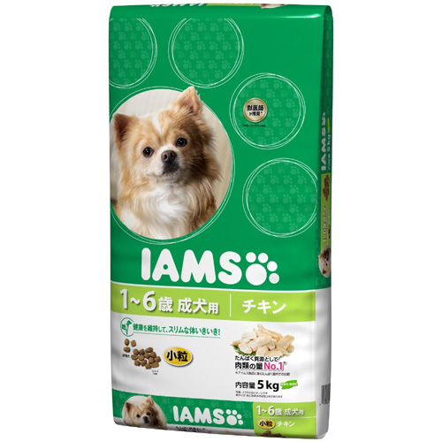 IAMS アイムス 成犬用【1歳~6歳】チキン 小粒 5kg