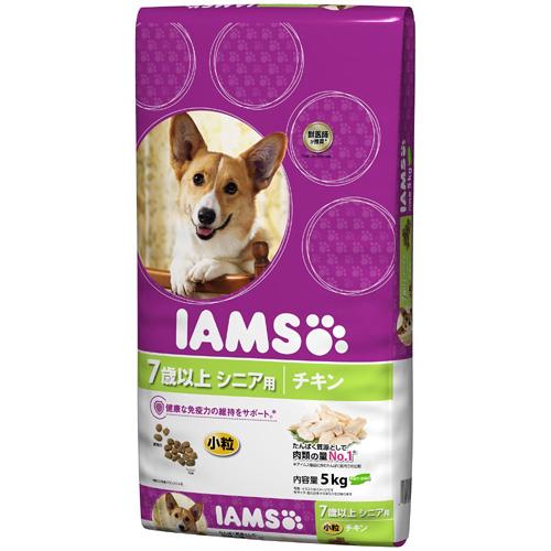 IAMS アイムス 7歳以上用チキン 小粒 5kg