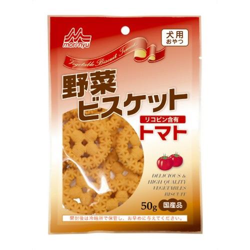 森乳 ワンラック 野菜ビスケット トマト 50g 【国産品】