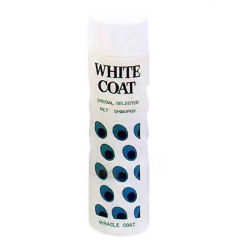 ニチドウ MIRACLE COAT ミラクルホワイトシャンプー(白毛犬用) 400ml