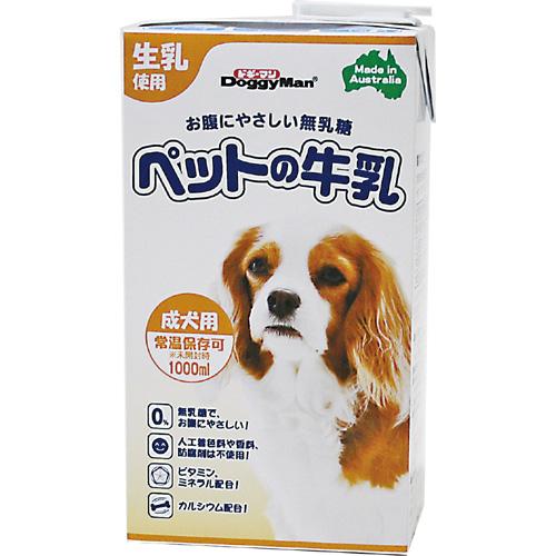 ドギーマンDoggyMan ペットの牛乳 成犬用 1000ml