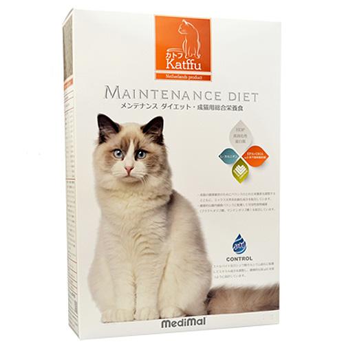 メディマル カトフ メンテナンス ダイエット・成猫用総合栄養食 50g テイスティングサイズ