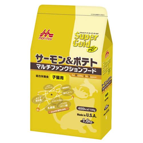 森乳 スーパーゴールド サーモン&ポテト マルチファンクションフード(子猫用) 1.6kg