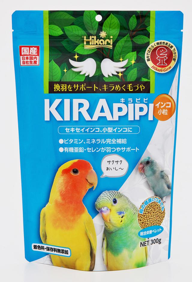 キラピピ インコ小粒300g