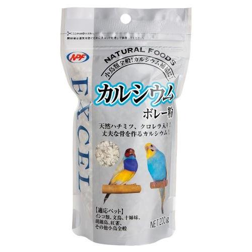 NPF ナチュラルペットフーズ エクセル カルシウム ボレー粉 200g