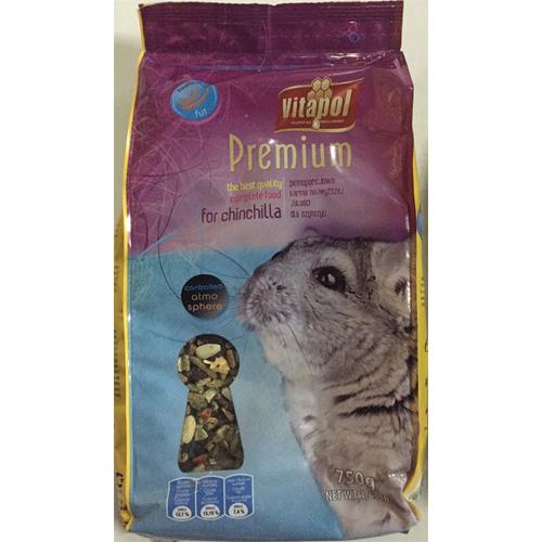 ビタポール プレミアム チンチラのための総合栄養食 750g