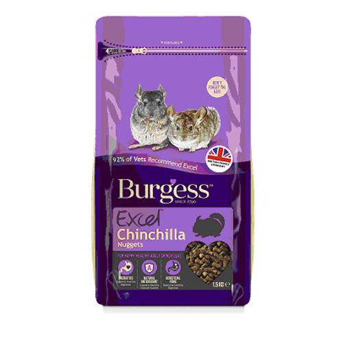 Burgess バージェス エクセル チンチラナゲット 1.5kg