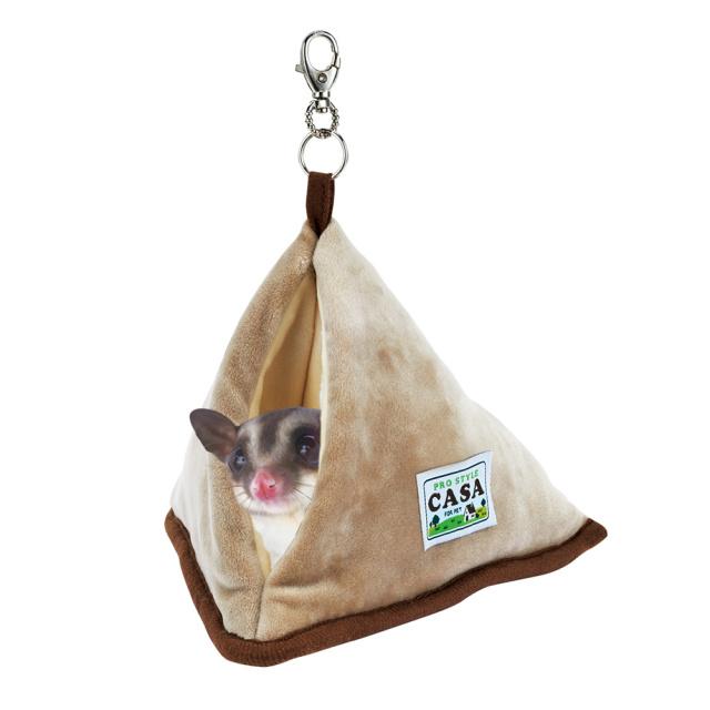 CASA フクロモモンガ三角ハウス モモンガが入っている画像