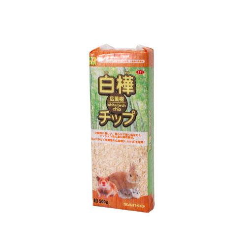 SANKO 白樺広葉樹チップ 500g