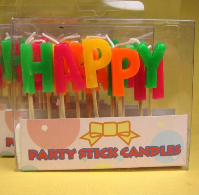 Happy BirthDay ローソク 13本(1組)セット