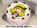 通販 キャラクターケーキ7号10