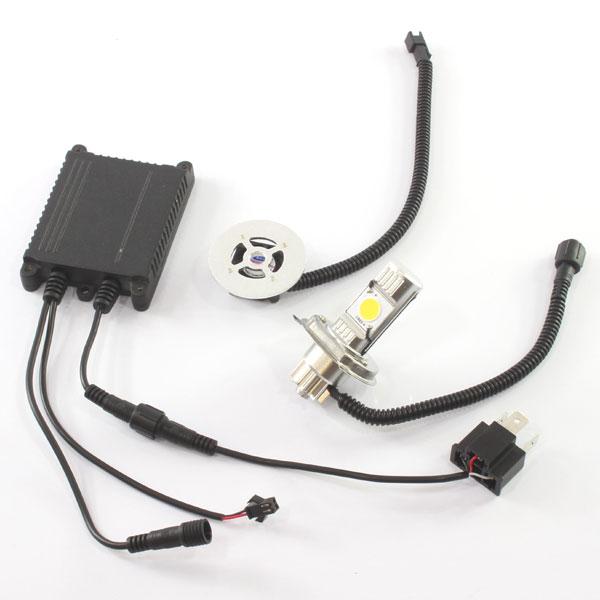 CREE社製 LEDヘッドライト フォグランプ H4 4000k 1灯分 Hi/Lo切り替え機能付き