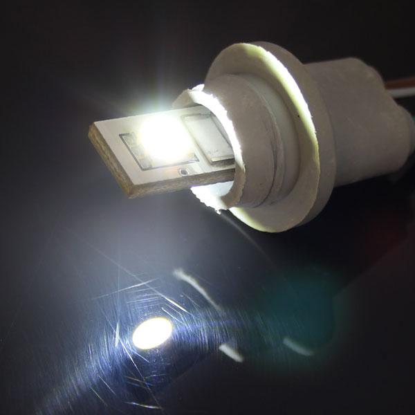 2連 キャンセラー内蔵 LEDバルブ 点灯イメージ