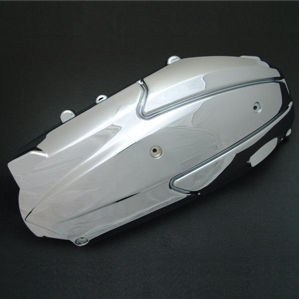 グランドマジェスティー250用(SG15J):メッキ プーリー ケースカバー