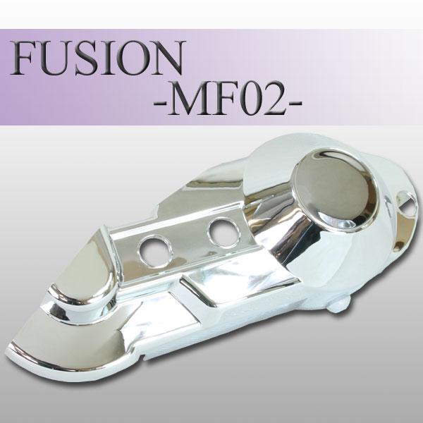 フュージョン用(MF02):メッキ プーリー ケース (TYPE-2)