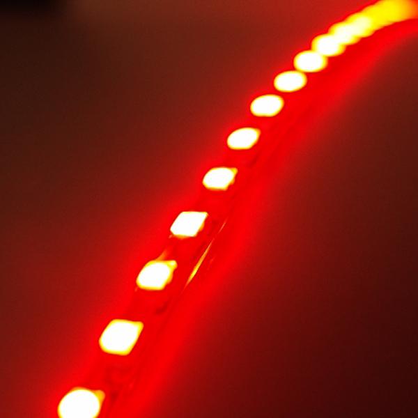 SMD-LED テープ 点灯発光イメージ レッド