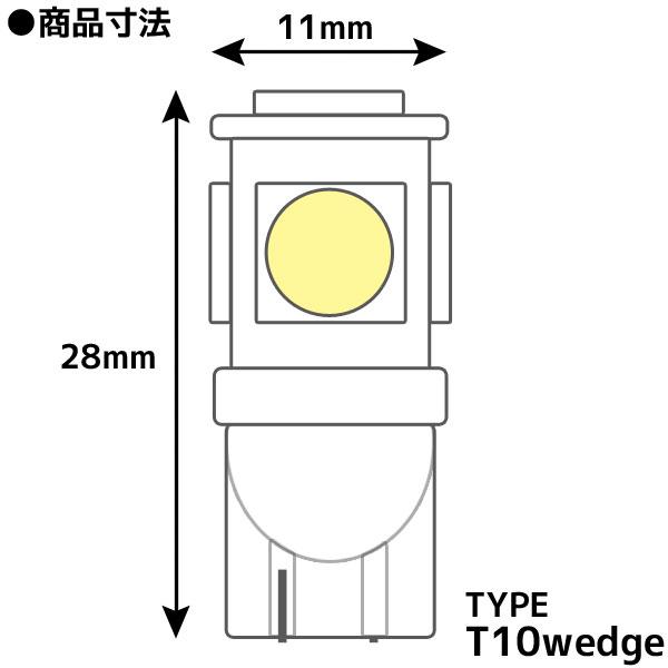 5連 SMDバルブ素材
