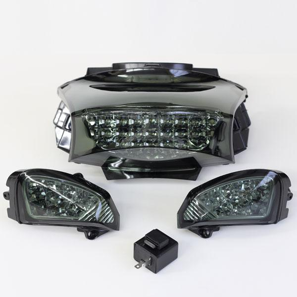 PCX LEDテールランプ&ウインカー/スモーク