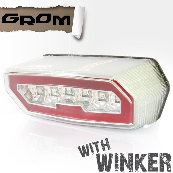 LEDクリアテールランプ ウインカー付