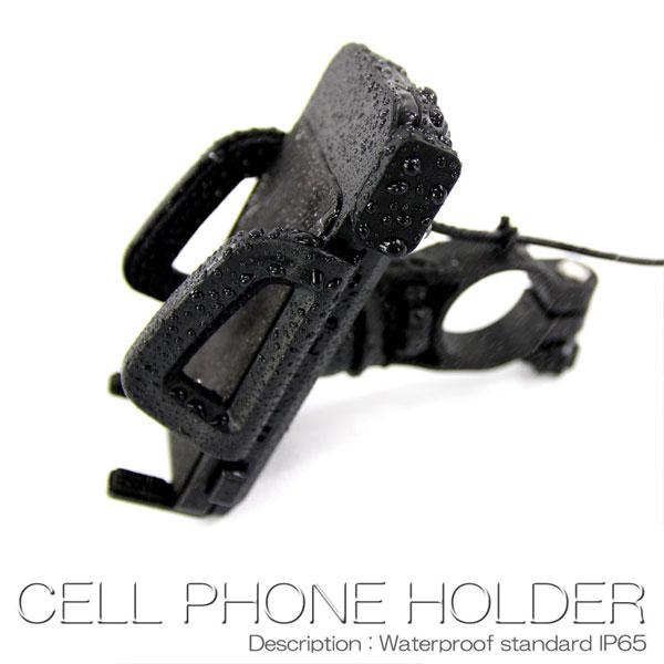 バイク 用 スマートフォン ホルダー
