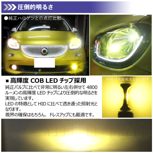 LEDヘッドライトD2C
