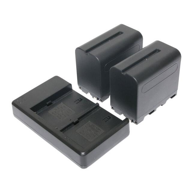 RCNP-F970 2個+充電器