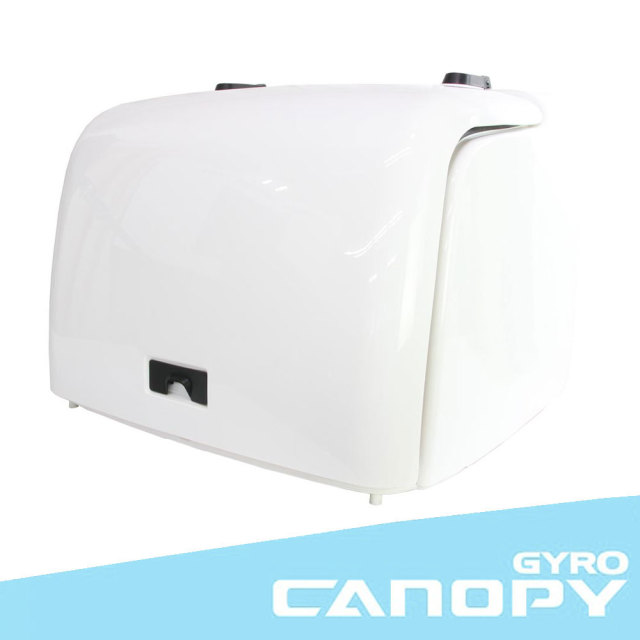 ホンダ ジャイロキャノピー TA02 ワゴンタイプ 純正タイプ デリバリーボックス ホワイト リアボックス HONDA GYRO CANOPY