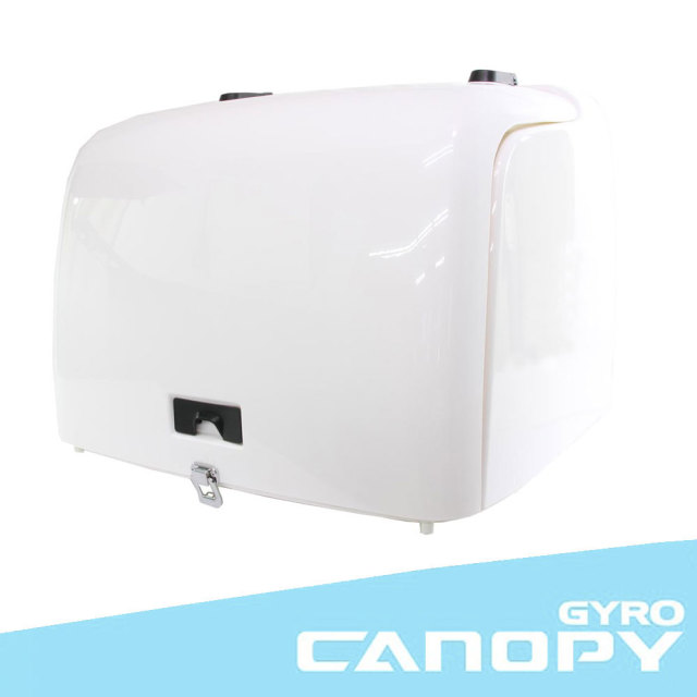 ホンダ ジャイロキャノピー TA02 TA03 ワゴンタイプ 純正タイプ デッキタイプ用 デリバリーボックス ホワイト リアボックス HONDA GYRO CANOPY