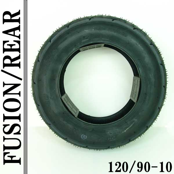 フュージョン(MF02):純正タイプ チューブレス タイヤ リア