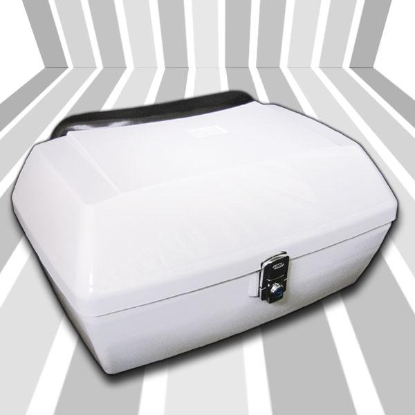 MF02 ホワイト 塗装済 リヤボックス/キャリア付