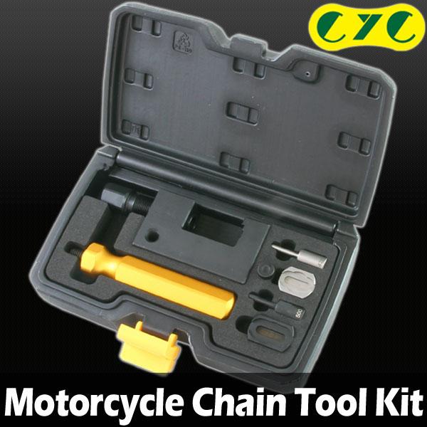 CYC バイク用 チェーンツールセット カット/圧入(プレート圧入)/カシメ 対応