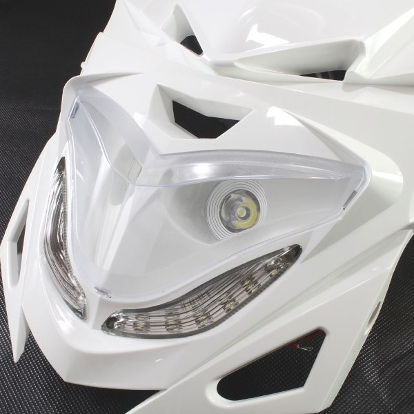 汎用 ストリートエッジ LEDヘッドライト ホワイト